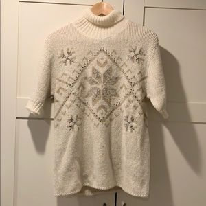 D&G Short Sleeve Crew Neck Sweater